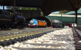 A familiar face on our G Scale garden track